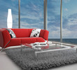 canvas print picture - Beach Loft with Landscape View | Interior Architecture