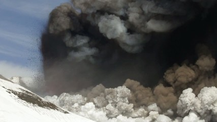 Etna eruption February 2013