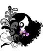 Spring silhouette