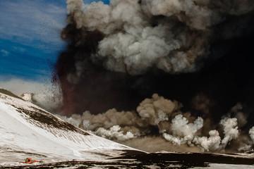 Etna eruption February 2013