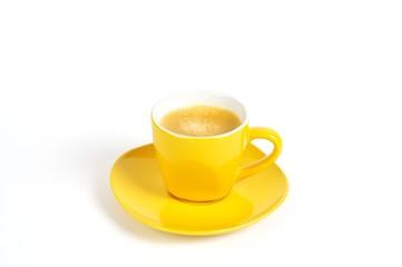 espressotasse gelb