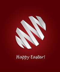 Paper Easter Egg