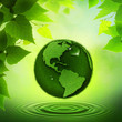 Green Earth. Abstract environmental backgrounds