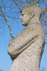 Statue of John F. Kennedy in Bonn