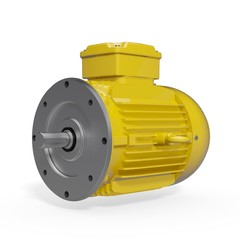 Electric Motor - B5 Nema - IM3001 - Yellow