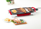 More comfortable more fast with electric grill pan