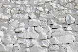 pared de piedras blancas 1028f