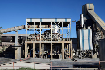 cement factory kiln