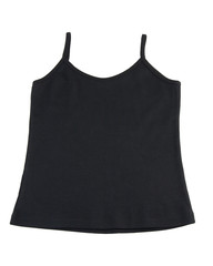 Casual black singlet for your relaxing day