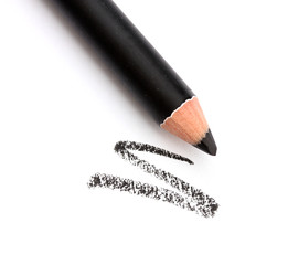 Cosmetic pencil, isolated on white