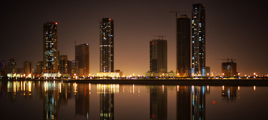 Cityscape of Sharjah