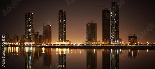 Cityscape of Sharjah