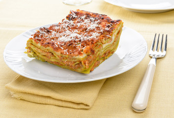 Lasagne - Lasagna with beef