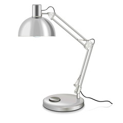 Vector table-lamp