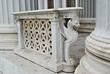 Statue of griffin of parliament Vienna Austria