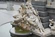 fountain  Austrian Parliament Vienna Austria