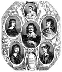 Family : Portraits - 17th century