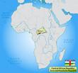 Übersichtskarte der Zentralafrikanischen Republik