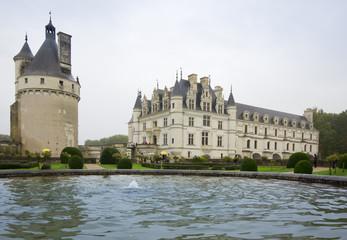 CHENONCEAU, FRANCE - November 2012: Castle on November, 2012 in