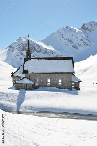 Chapel in Melchsee-Frutt, Switzerland