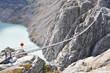 Trift Bridge, the longest 170m pedestrian-only suspension bridge