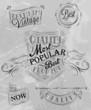 Heraldry chalk premium gray
