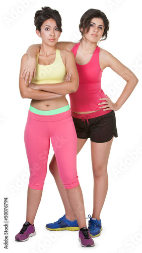 Confident Workout Girls