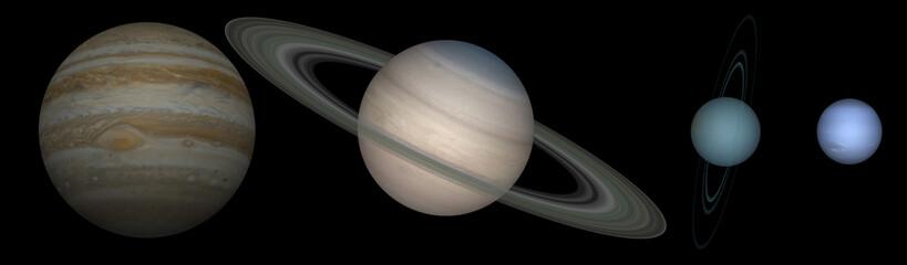 système solaire externe