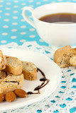 Aromatic cookies cantuccini