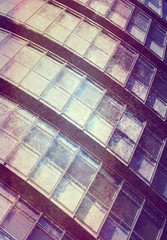abstract textured building