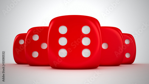 Group of dice