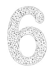 Blabla number 6v