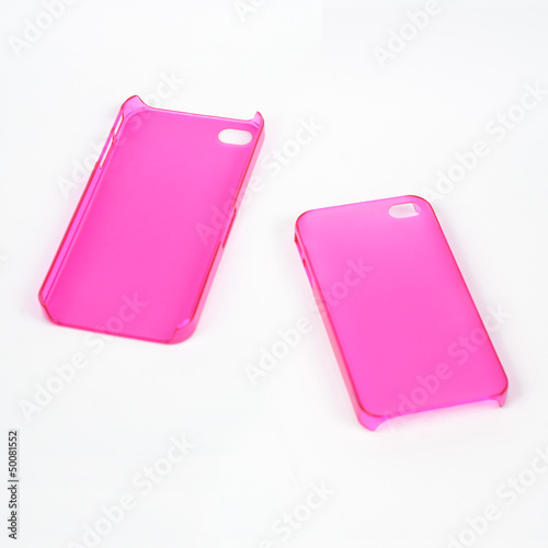 Pink Mobile Phone Cover