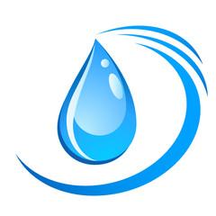 Wasser - Zeichen, Logo