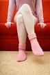 Warm woolen socks