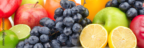 Poster Composition of fruits and vegetables