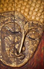 Hand craft of a Buddha's image.