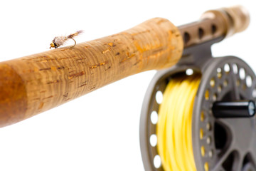 Fly Fishing Gear Rod and Reel
