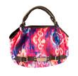 Tie dye multicolor handbag