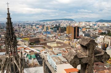 Modern Quito, Ecuador View