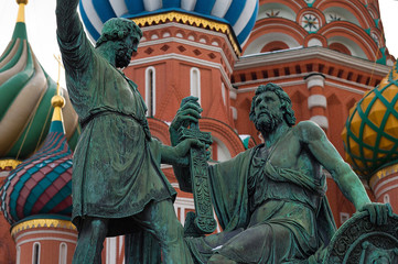 Moskau, Kreml und Roter Platz am 19.02.2013