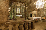 The Chapel of Saint Kinga in Wieliczka Salt Mine, Poland.