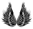 Wings.Tattoo design