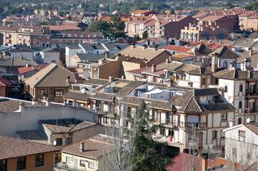 Views of Manzanares el Real, Madrid Province, Spain
