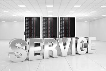 Data Center with chrome service