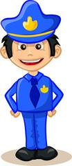 Симпатичные полицейский мультфильмов