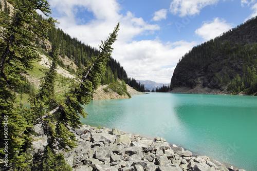 Kanada, bergsee