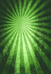 green burst textured