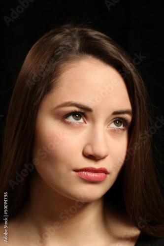 Portait einer jungen Frau Teenager