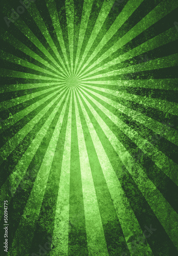 green burst textured